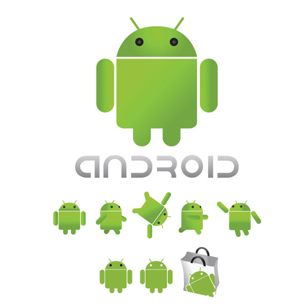 Fresh Android Market Bag Icon PSD - WeLoveSoLo  Fresh Android M...