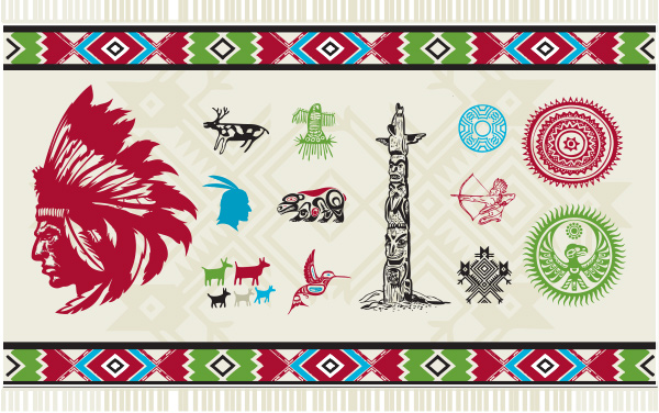 warrior vector totem pole north american native art north american native native art hummingbird free deer culture bear