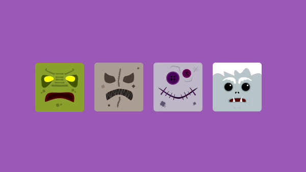 scary monster mini ios icons halloween goulish free