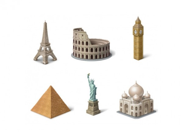 world web Vectors vector graphic vector unique ultimate ui elements tajmahal Statue of Liberty quality pyramids psd png Photoshop pack original new modern jpg illustrator illustration icons ico icns high quality hi-def HD fresh free vectors free download free famous buildings elements Eiffel Tower download design creative AI