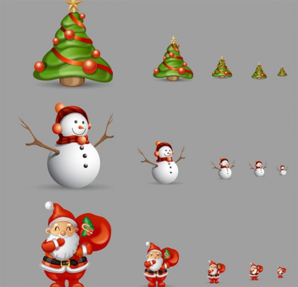 xmas web Vectors vector graphic vector unique ultimate ui elements snowman sleigh santa claus quality psd png Photoshop pack original new modern jpg illustrator illustration icons ico icns high quality hi-def HD fresh free vectors free download free elements download design creative christmas tree christmas AI