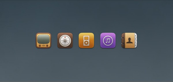 youtube professional nice iTunes iPod Free icons free downloads compass clean and Contacts Replacement Icons