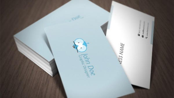 2 alternative side business card with crazy character welovesolo vector teal standard size business card quality print ready light blue free psd free cards crazy colourmoves
