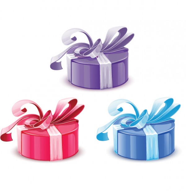 Colorful vector wrapped gift boxes welovesolo colorful vector wrapped gift boxes negle Images
