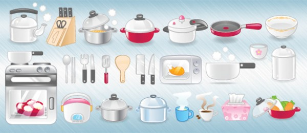 web 2.0 web Vectors vector graphic vector utensils unique ultimate stove set quality pots Photoshop pans pack original new modern microwave kitchen illustrator illustration icons high quality fresh free vectors free download free download design creative cooker coffee baking AI