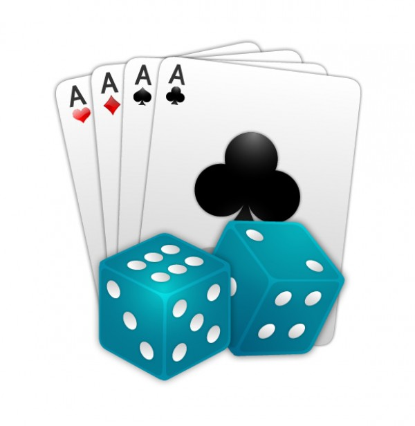 Games Doc Icon With Cards And Dice WeLoveSoLo - Doc games