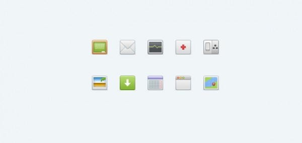 table set redcross psd picture Photoshop paper mush medic map letter icons icon set icon calendar