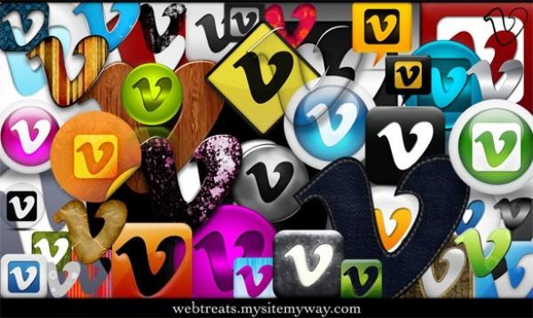 web vimeo unique stylish social media social set quality pack original new networking modern icons fresh free download free download design creative