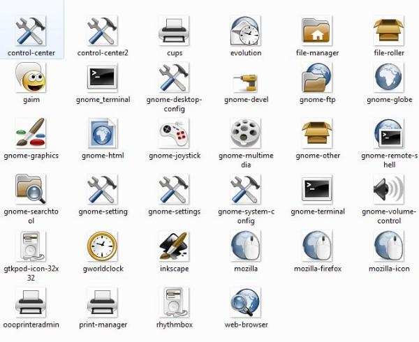 Gnome pdf icon