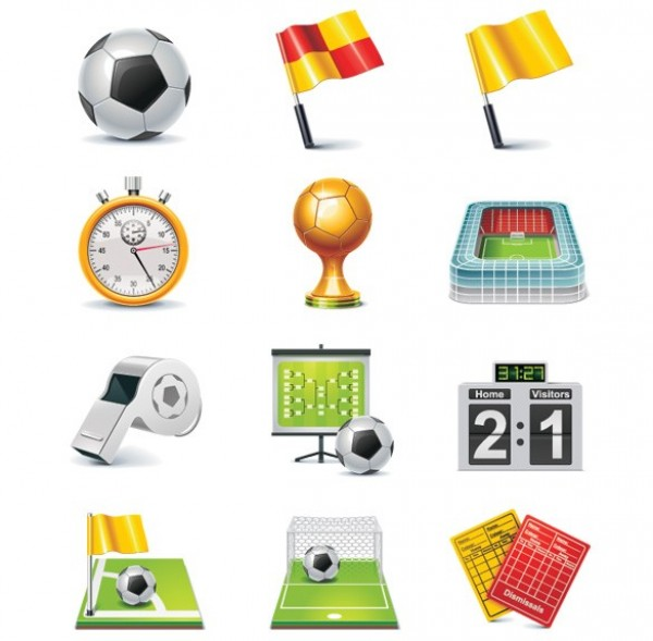 web vector unique trophy stylish stopwatch stadium soccer icons soccer result referee's whistle quality original new illustrator icons high quality graphic goal fresh free download free football icons football flag download design creative corner ball