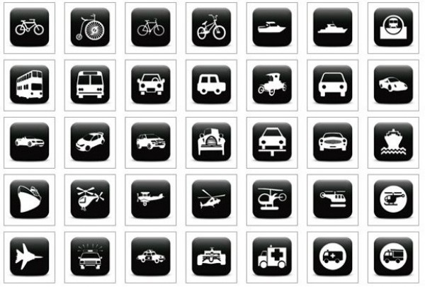 web unique ui elements ui travel icons transport icons stylish simple ships quality planes original new modern interface hi-res HD fresh free download free elements download detailed design creative clean cars black icons black bicycles