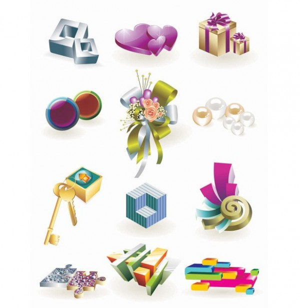 web vector unique ui elements stylish shapes quality original new isometric interface illustrator icons high quality hi-res hearts HD graphic gift box futuristic fresh free download free elements download detailed design creative bouquet 3d