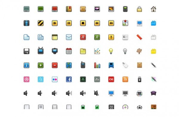 80 Pixel Perfect Minimal Web Icons Pack - WeLoveSoLo