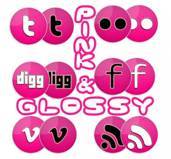 web unique ui elements ui stylish social media icons social simple quality pink social icons pink original new networking modern interface icons hi-res HD fresh free download free elements download detailed design creative clean