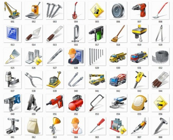 workers web unique ui elements ui tools stylish simple safety quality original new modern interface icons hi-res HD fresh free download free equipment elements download detailed design creative construction tools construction clean