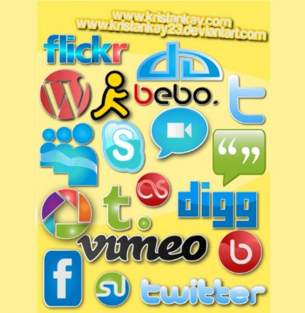 web vector unique ui elements stylish social media icons social shiny set quality pack original new networking interface illustrator icons high quality hi-res HD graphic glossy fresh free download free elements download detailed design creative bookmarking