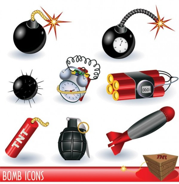 web vector unique ui elements time bombs stylish quality original new missiles mines land mines illustrator iconsTNT high quality hi-res HD graphic fresh free download free dynamite download design creative bombs