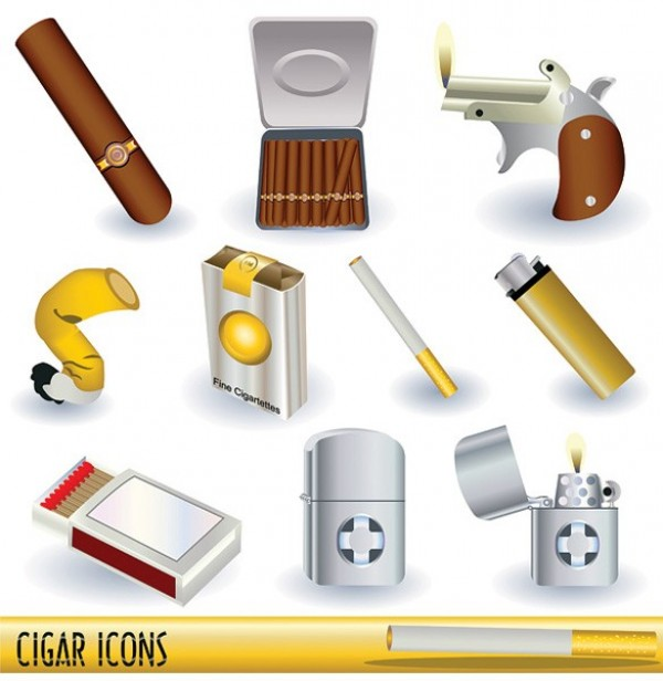 web vector unique ui elements tobacco stylish smoking quality original new matches lighters lighter illustrator high quality hi-res HD guns graphic fresh free download free download design crushed cigarette creative cigars cigarettes cigarette