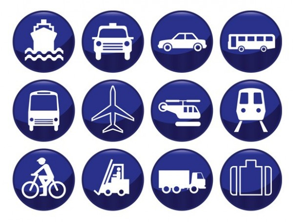 web vector unique ui elements truck travel transport train stylish silhouette ship round quality plane original new jet illustrator icons high quality hi-res helicopter HD graphic fresh free download free download design creative bus boat blue bicycle