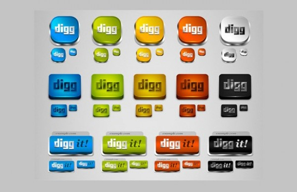 web unique ui elements ui stylish styles social simple shapes quality png original News new networking modern media interface hi-res HD fresh free download free elements download DIGG detailed design creative clean bookmarking 3d