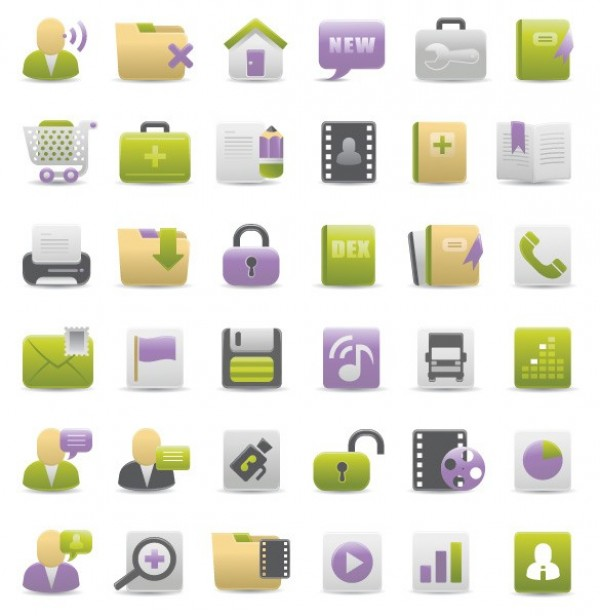 web icons web vector unique ui elements stylish set quality purple pack original new interface illustrator icons high quality hi-res HD green graphic fresh free download free elements download dock icons detailed design creative