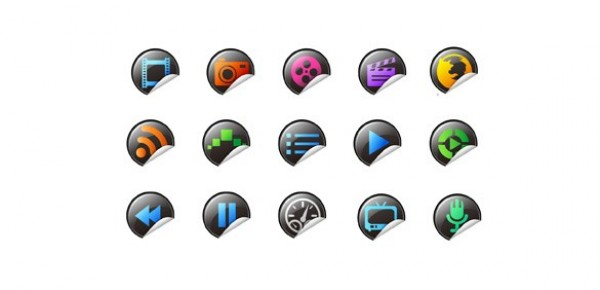 web watch video vector unique ui elements television stylish quality player original new music movies microphone media icon interface illustrator icons high quality hi-res HD graphic fresh free download free Firefox fast forward elements download detailed design curled sticker icons creative browser
