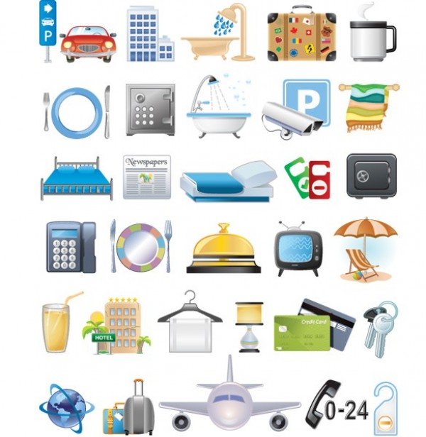 web vector unique ui elements travel tourist tourism suitcase stylish room service quality original new luggage jet interface illustrator icons hotel high quality hi-res HD graphic fresh free download free elements download detailed design creative