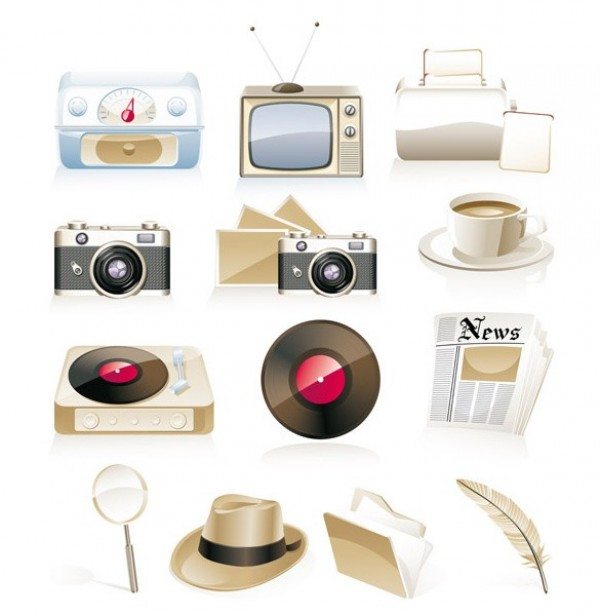 web vector unique ui elements stylish retro record player quality pictures original old tv old radio old hat old camera nostalgia newspaper new memories interface illustrator icon high quality hi-res HD graphic fresh free download free feather elements download detailed design creative coffee