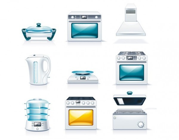 web vector unique ui elements stylish stoves steamer quality pots original new microwave knives kitchenware kitchen kettles kettle interface illustrator icons icon high quality hi-res HD graphic fresh free download free elements electric frying pan download detailed design deep-fryer creative