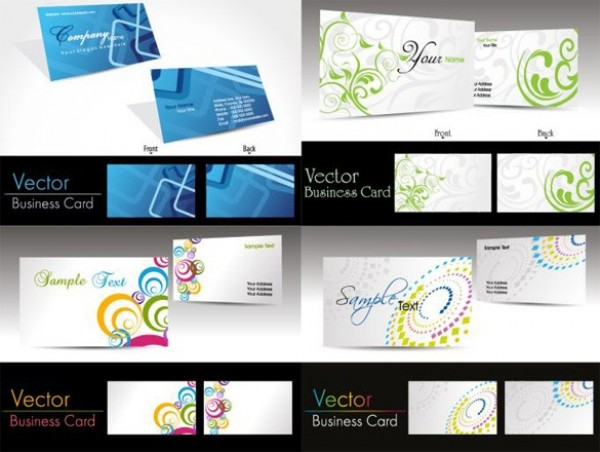 web vector unique template stylish quality original modern illustrator high quality graphic geometric front fresh free download free download design creative card business cards business back abstract