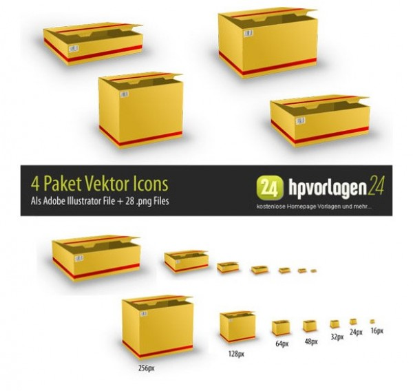 yellow web vector unique ui elements stylish quality packets packages original new interface illustrator high quality hi-res HD graphic fresh free download free elements download detailed design delivery packets delivery box creative courier box