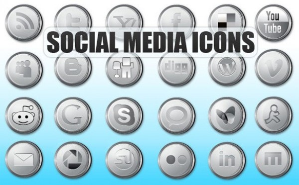 web vector unique ui elements stylish social silver round quality original new networking media interface illustrator icons high quality hi-res HD graphic fresh free download free elements download detailed design creative bookmarking AI