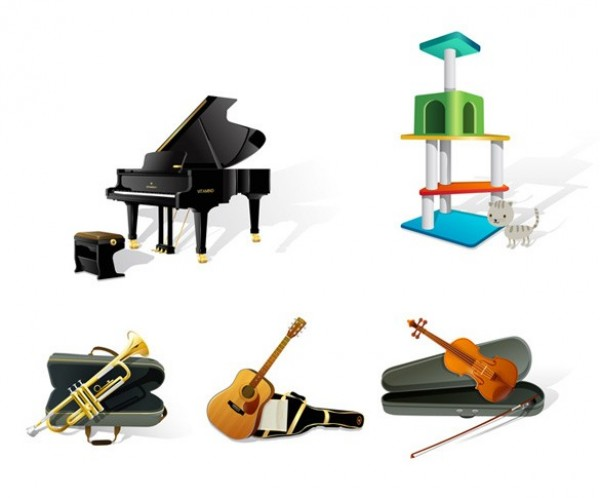 web violin vector unique ui elements trumpet stylish quality piano original new musical music interface instrument illustrator icons high quality hi-res HD guitar graphic grand piano fresh free download free EPS elements download detailed design creative cat scratch post case