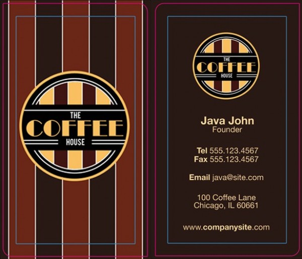 Trendy coffee style business card templates psd welovesolo trendy coffee style business card templates psd wajeb