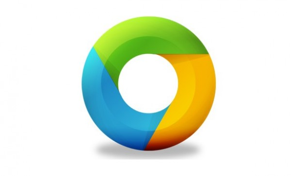 Colorful google chrome replacement icon welovesolo - Google chrome 3d home design app ...