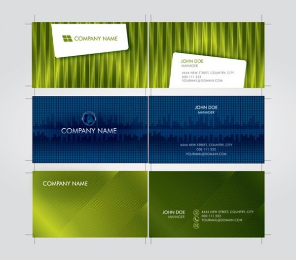 3 futuristic business card template vector set welovesolo 3 futuristic business card template vector set reheart Gallery