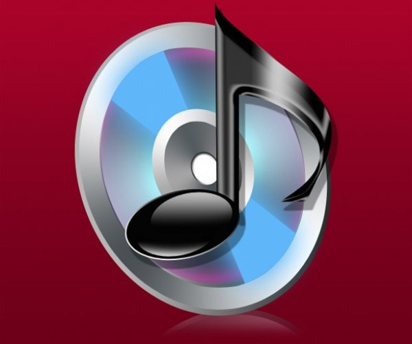 web unique ui elements ui stylish quality psd original new musical note music icon music mp3 icon modern interface icon hi-res HD fresh free download free elements download disc detailed design creative clean CD black
