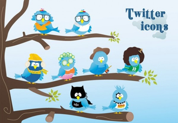 web vector unique ui elements twitter icons twitter stylish social icons set social set quality png original new interface illustrator icons high quality hi-res HD graphic fresh free download free elements download detailed design cute creative AI