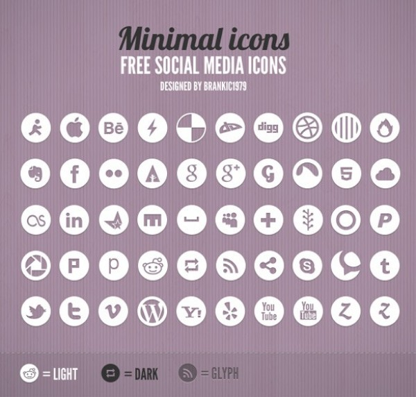 web unique ui elements ui stylish social icons set social set quality psd pack original new networking modern media light interface icons hi-res HD glyph fresh free download free elements download detailed design dark creative clean bookmarking