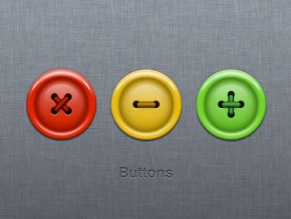 Colorful Button Traffic Light Icons Set Png Welovesolo
