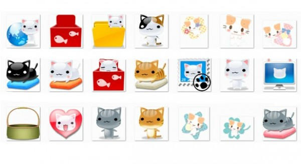 web unique ui elements ui stylish sleeping cat icon set quality png pillow original new modern interface hi-res heart HD fresh free download free elements dozer cat icons download detailed design cute creative clean character cat stamp cat icons cat cartoon