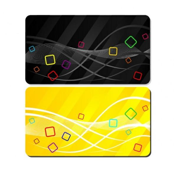 Fun Colorful Businessgift Card Templates Set Welovesolo