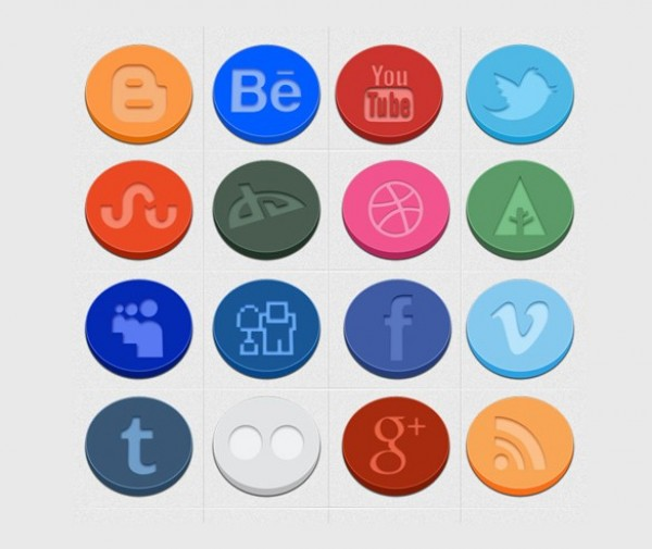 web unique ui elements ui stylish social icons set social icons set round quality png pack original new modern interface icons hi-res HD fresh free download free elements download detailed design creative colorful clean 3d
