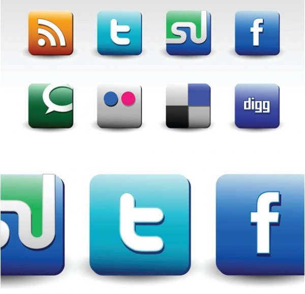 web vector unique ui elements stylish social icons set social set quality PDF original new networking matte jpg interface illustrator icons high quality hi-res HD graphic fresh free download free EPS elements download detailed design creative bookmarking blue AI