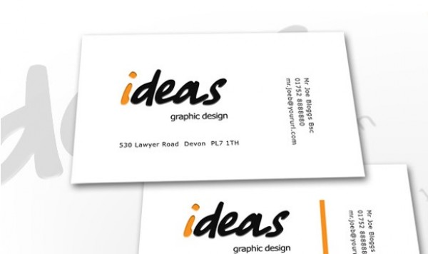 simple design business card template set welovesolo