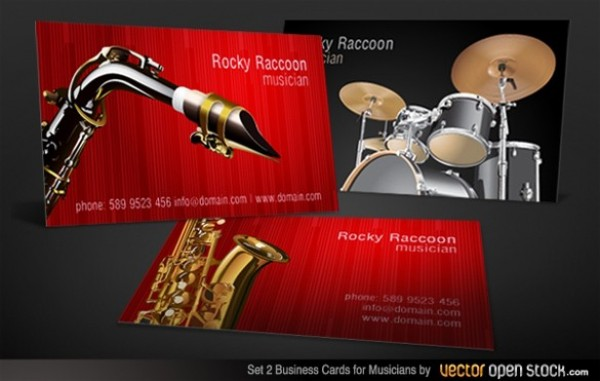 web vector unique ui elements template stylish set saxophone quality player original new musician interface illustrator high quality hi-res HD graphic fresh free download free elements drums drummer download detailed design creative card business cards AI