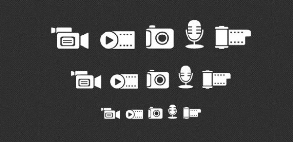 web video unique ui elements ui stylish set quality psd png photography original new modern microphone mic media icons media interface icons hi-res HD fresh free download free film icon film elements download detailed design creative clean camera camcorder