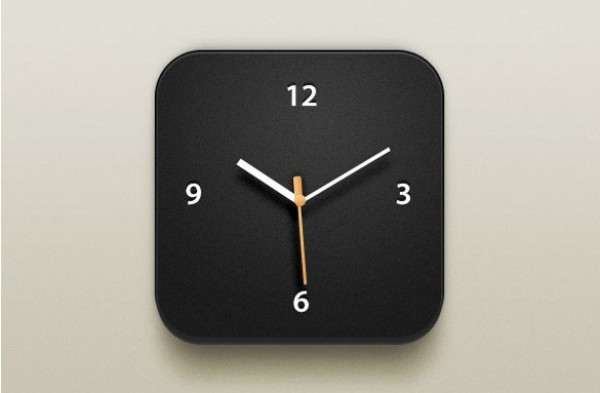 web unique ui elements ui stylish quality psd original new modern ios clock icon ios interface icon hi-res HD fresh free download free elements download detailed design dark clock icon creative clock icon clock clean