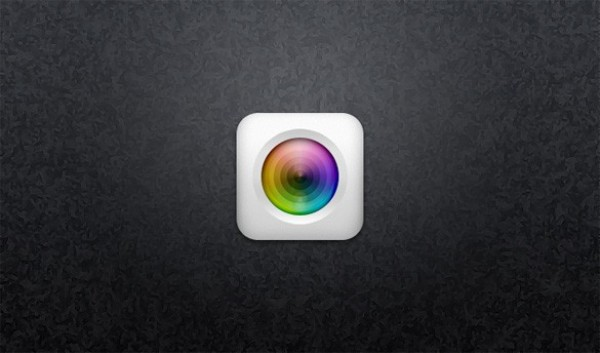 white camera icon white web unique ui elements ui stylish rounded quality psd original new modern light lens iridescent ios camera icon ios interface hi-res HD fresh free download free elements download detailed design creative colorful clean camera icon