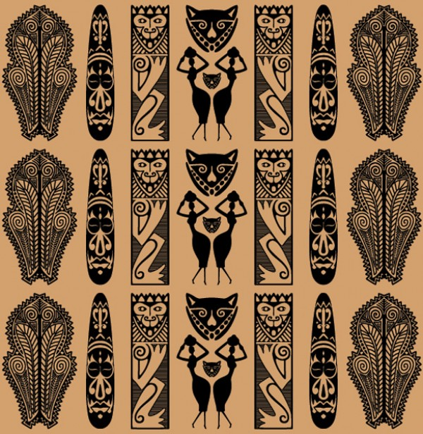 Traditional African Tribal Vector Pattern WeLoveSoLo Gorgeous African Tribal Patterns